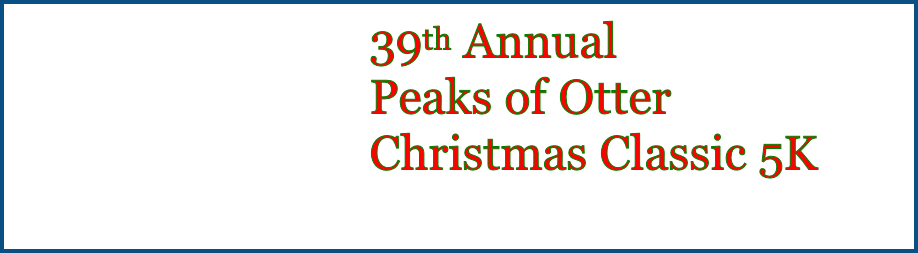 39th Annual